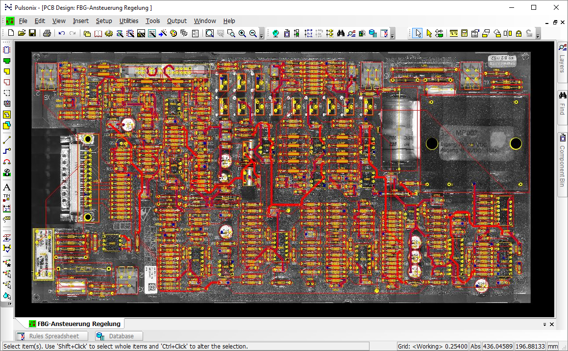 Pulsonix Testimonials For Pcb Design Including Schematic Capture Board Layout And Autorouter This Picture Is Imported Into The Editor Components Used In Can Be